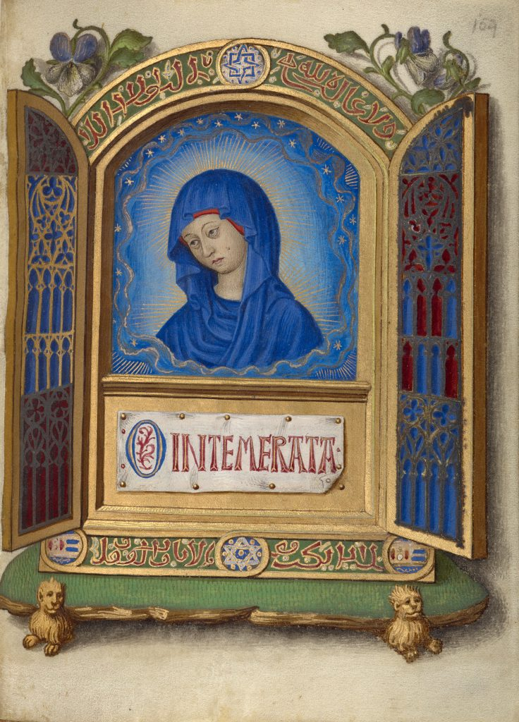 Portable Altarpiece with the Weeping Madonna