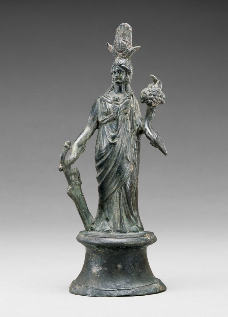 Statuette of Isis-Fortuna