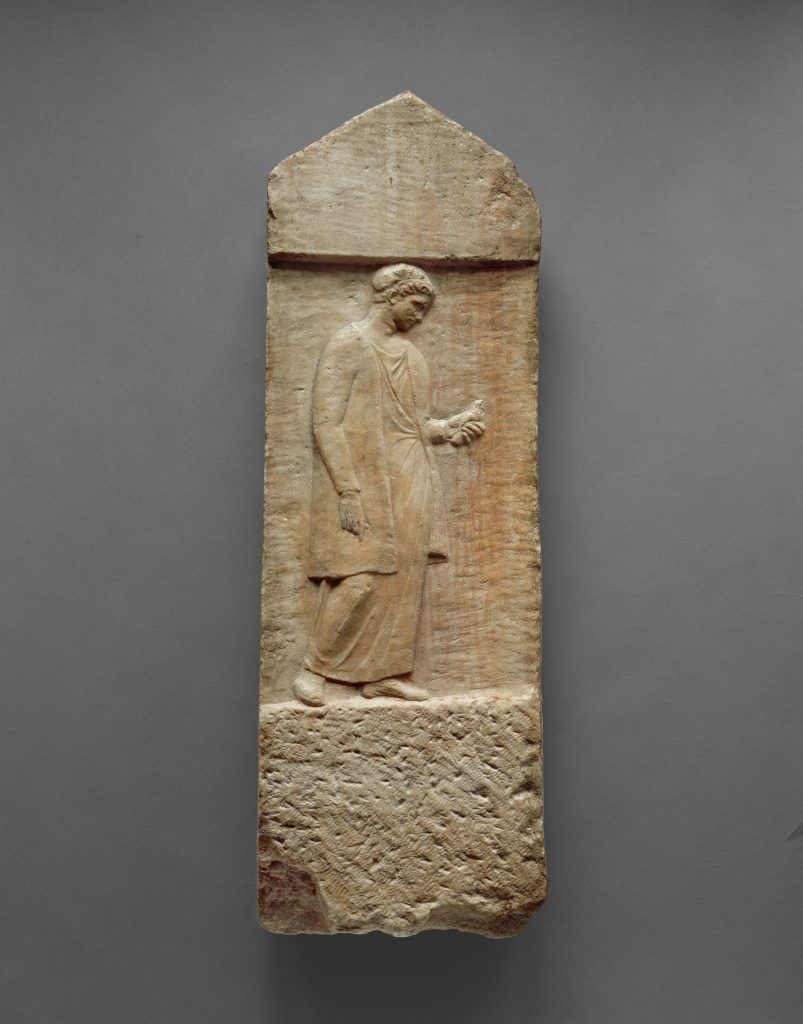 Grave Stele of Myttion