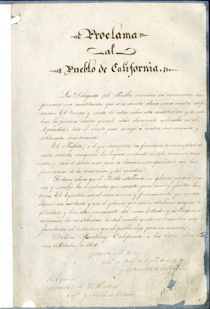 12AD.5.1b Constitucion del estado de California