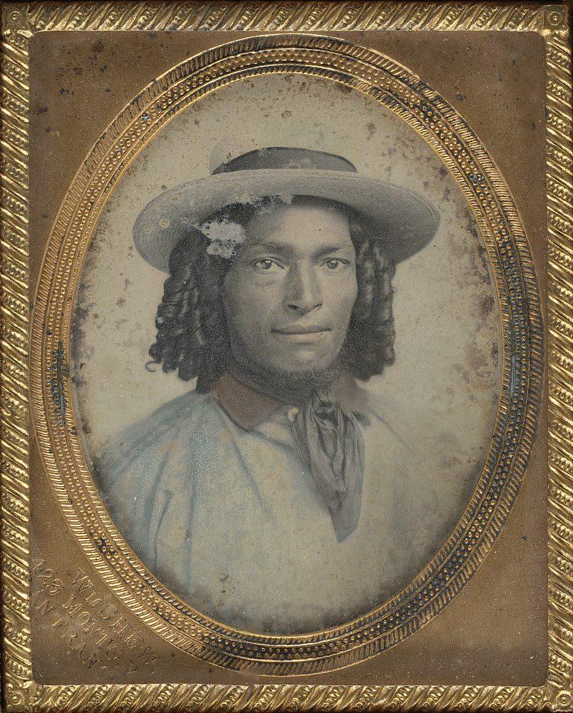 Portrait of Chilean sailor