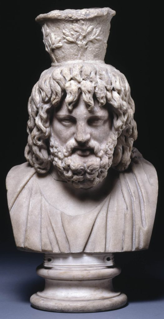 Representation of Zeus/Jupiter Serapis