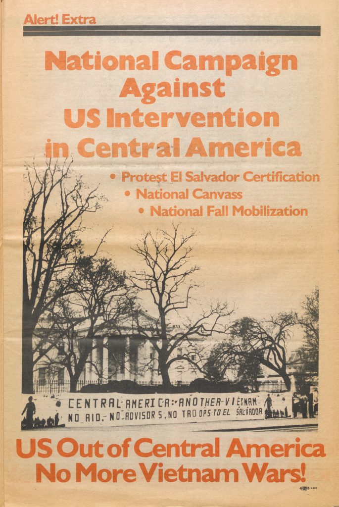 National Campaign Against US Intervention in Central America