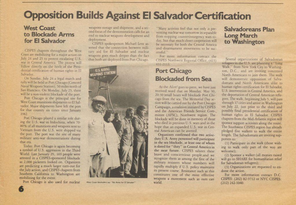 Opposition Builds Against El Salvador's Certification