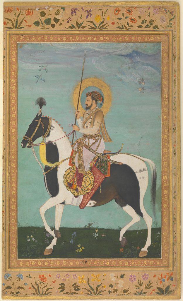 """""""Shah Jahan on Horseback"""", Folio from the Shah Jahan Album"""