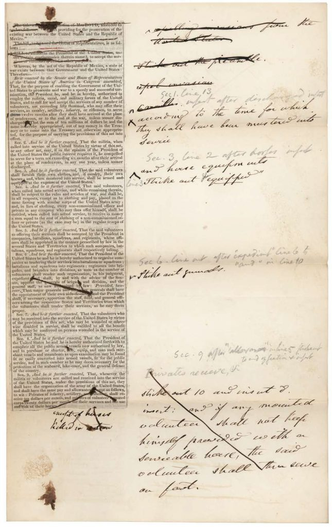H.R. 145 Declaration of War with Mexico, 1846