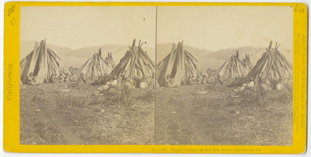 No. 1107. Digger Indians, at Ten Mile River – Mendocino Co