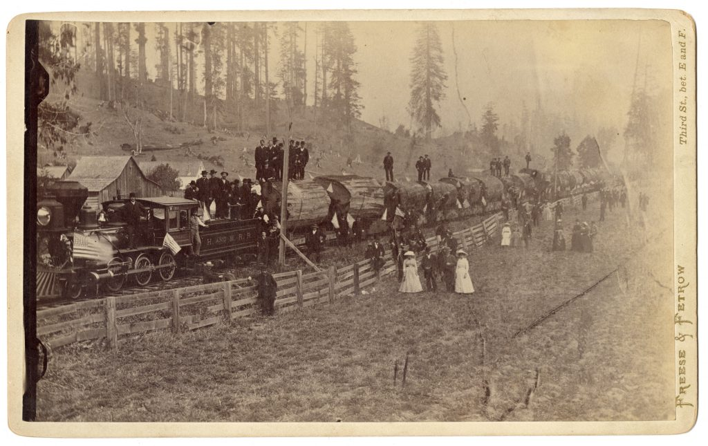 John Vance's Logging Train, Mad River, California