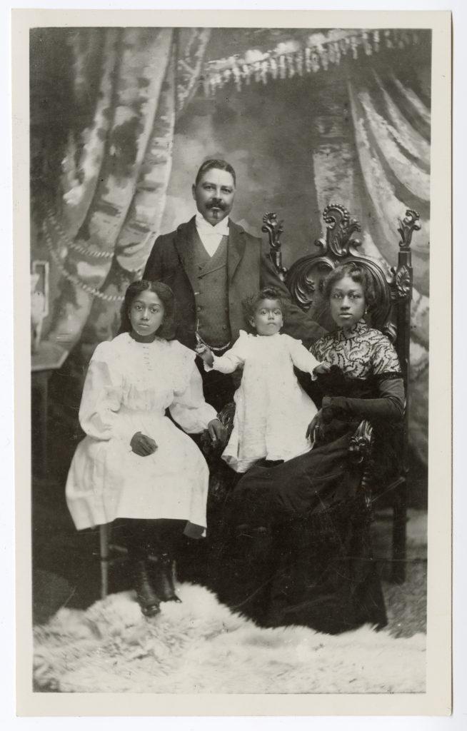 Portrait of Captain William T. Shorey and family