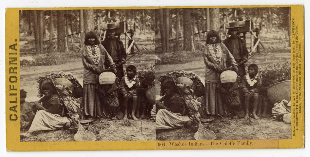 No. 604: Washoe Indians – The Chief's Family.