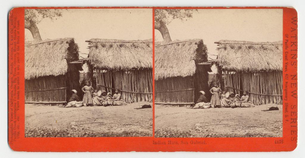 Indian Huts, San Gabriel. #4438