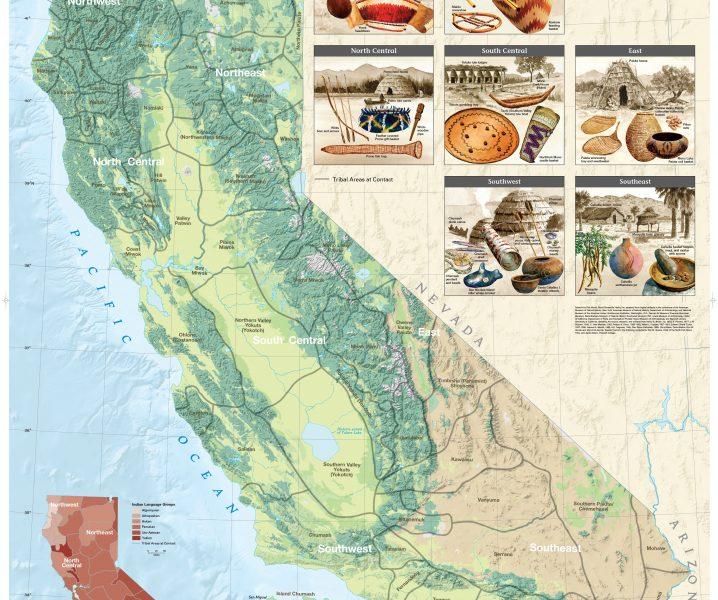 California Tribal Regions