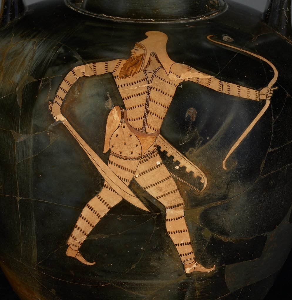 Attic Red-Figure Amphora