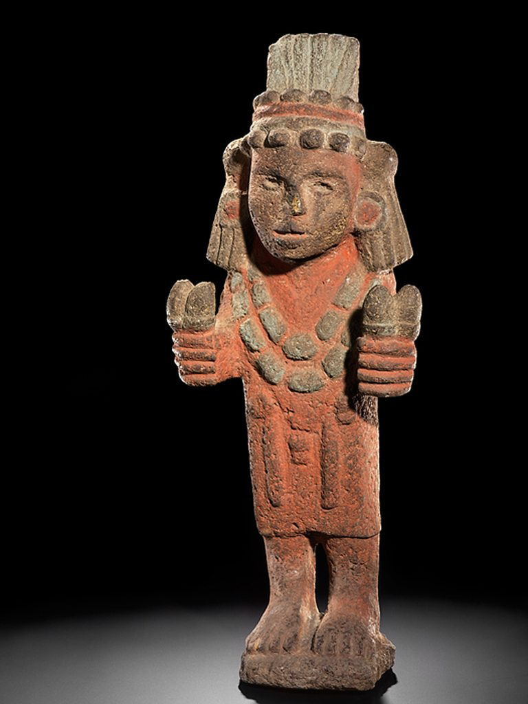 Figure of Chicomecóatl (the maize goddess)