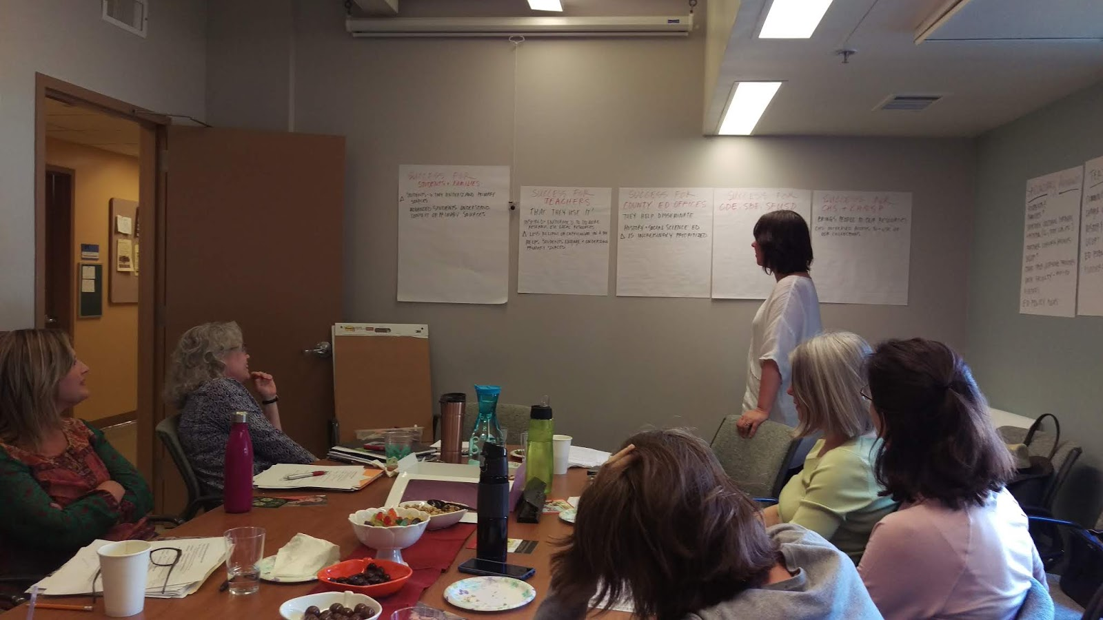 Designing for our Audiences in Teaching California