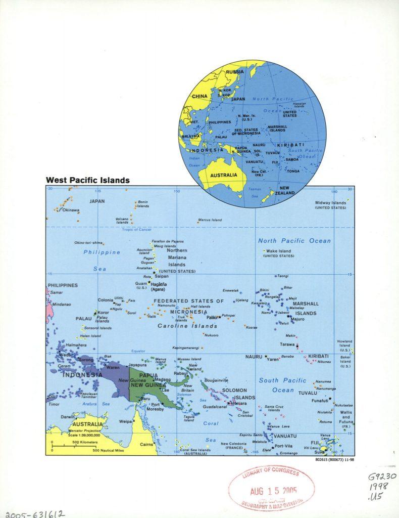 West Pacific Islands