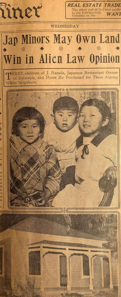 11.3.4 Jap Minors May Own Land, Win in Alien Law Opinion
