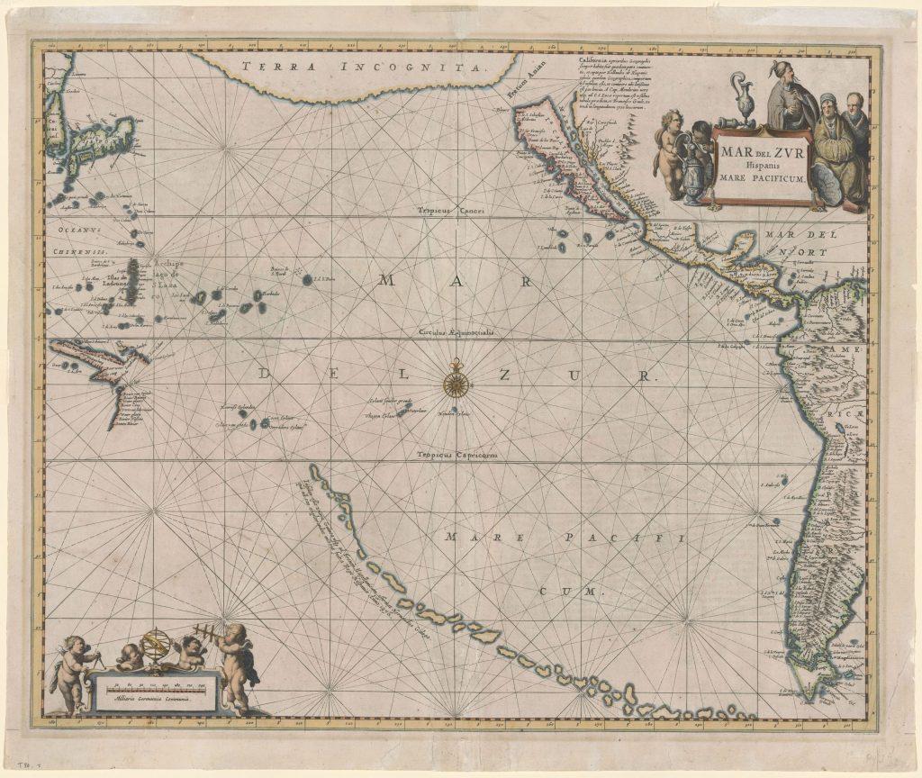 Mar del zvr hispanis mare pacificum