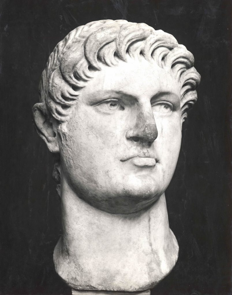Marble Bust of Nero