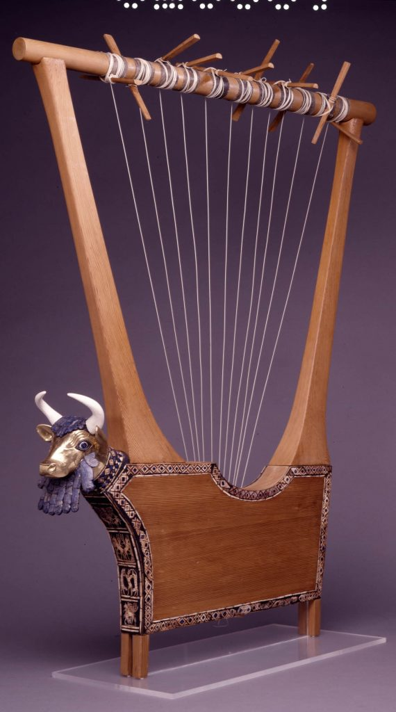 The Queen's Lyre from the Royal Tombs of Ur