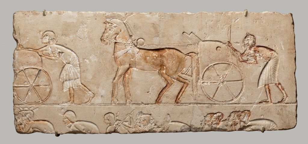 Relief fragment with chariots