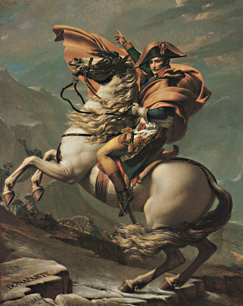 Napoleon Crossing the Alps at the Saint-Bernard Pass