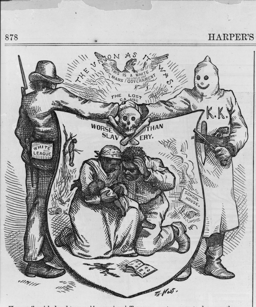 The Union as it was, The lost cause, worse than slavery