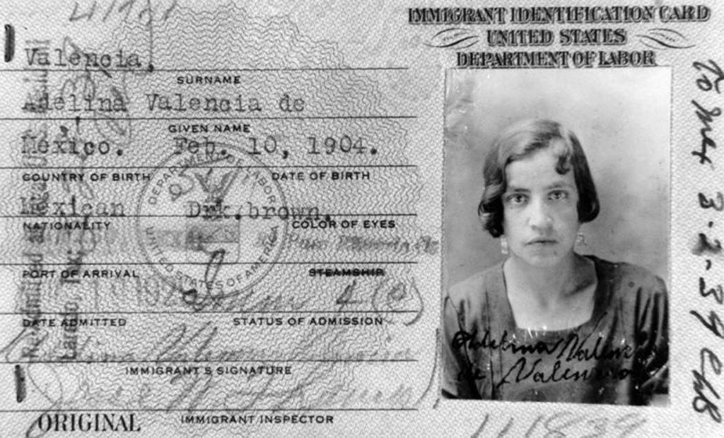 11.5.8 Immigrant identification card