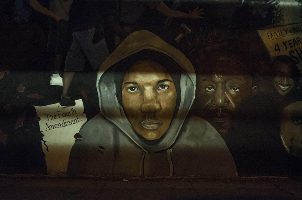 Trayvon Martin, Livonia Ave. at Jerome, Brooklyn, 2015