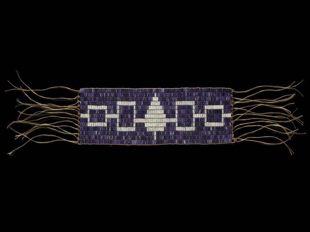 5.1.1 Replica of the Hiawatha wampum belt