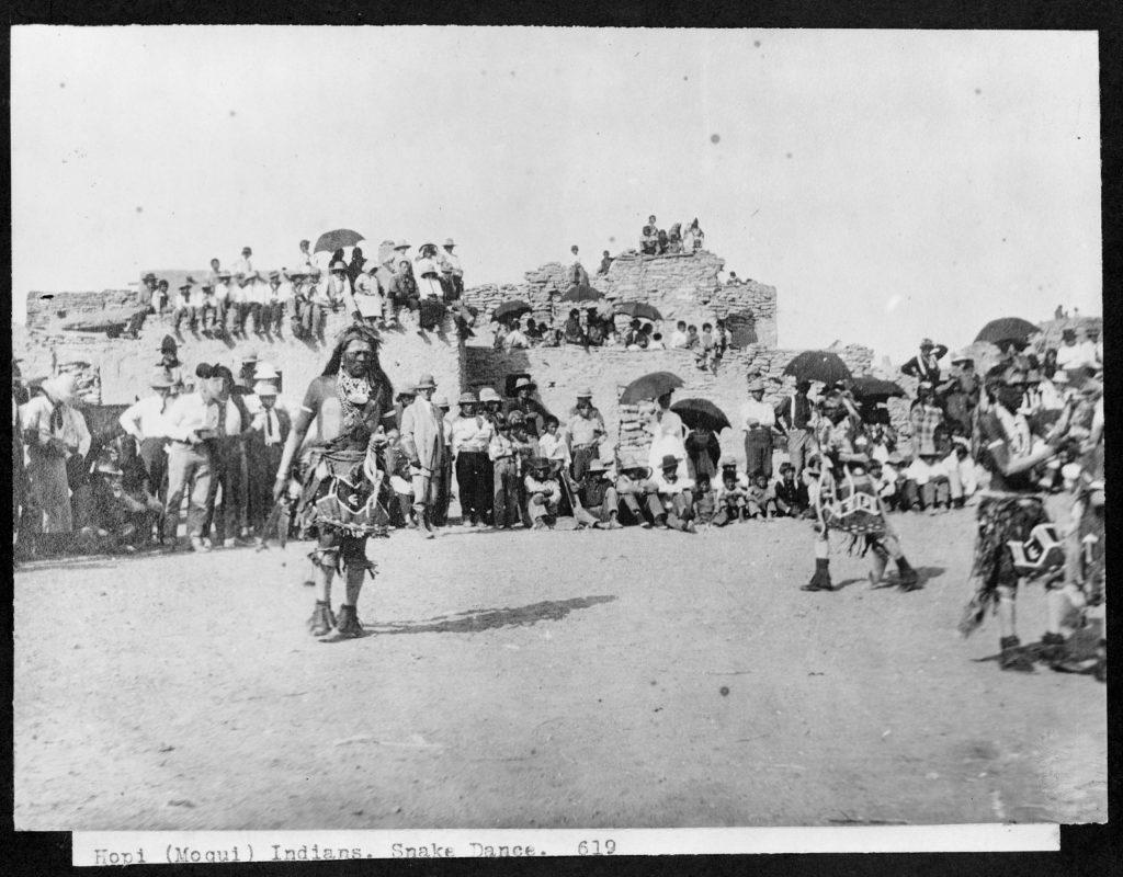 5.1.3b Hopi Moqui Indians, Snake Dance, Arizona