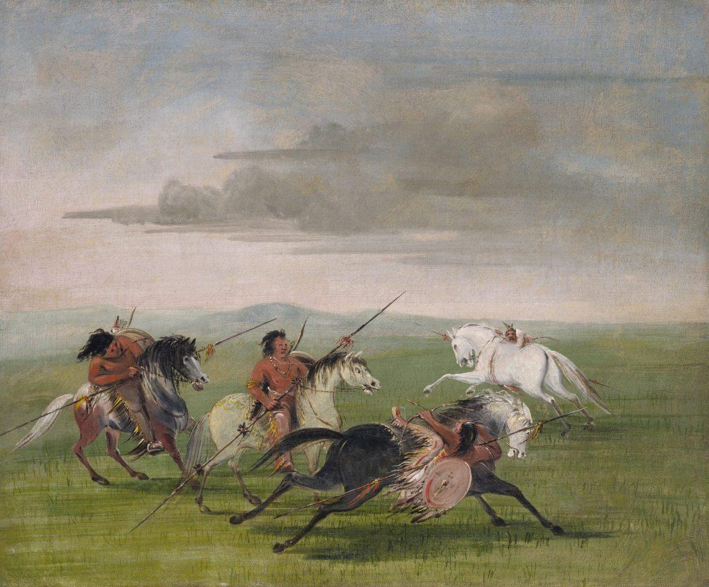 5.1.5 Comanche Feats of Horsemanship