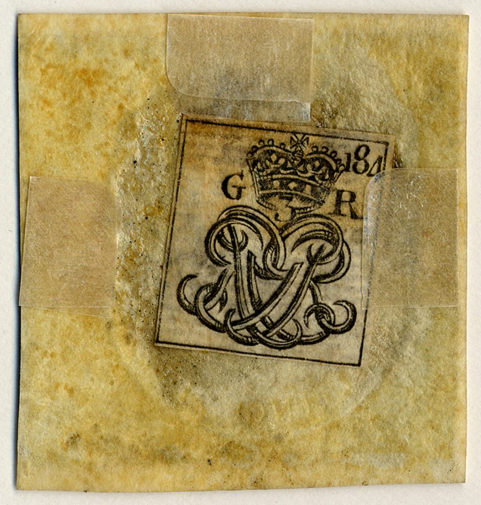 5.5.2 Stamp from the Stamp Act of 1765