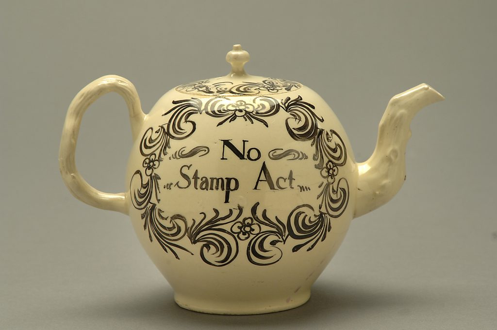 5.5.3 No Stamp Act Teapot