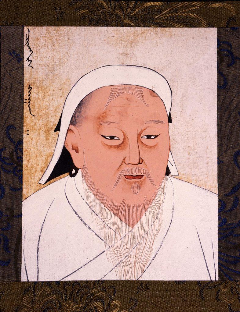 7.8.2 Watercolor of Genghis Khan