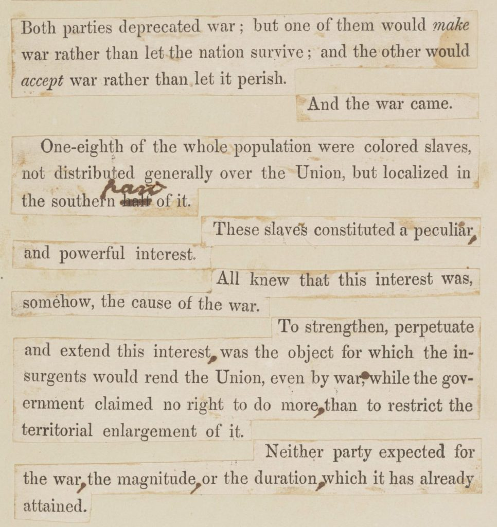 8.10.11a Lincoln's Second Inaugural Address