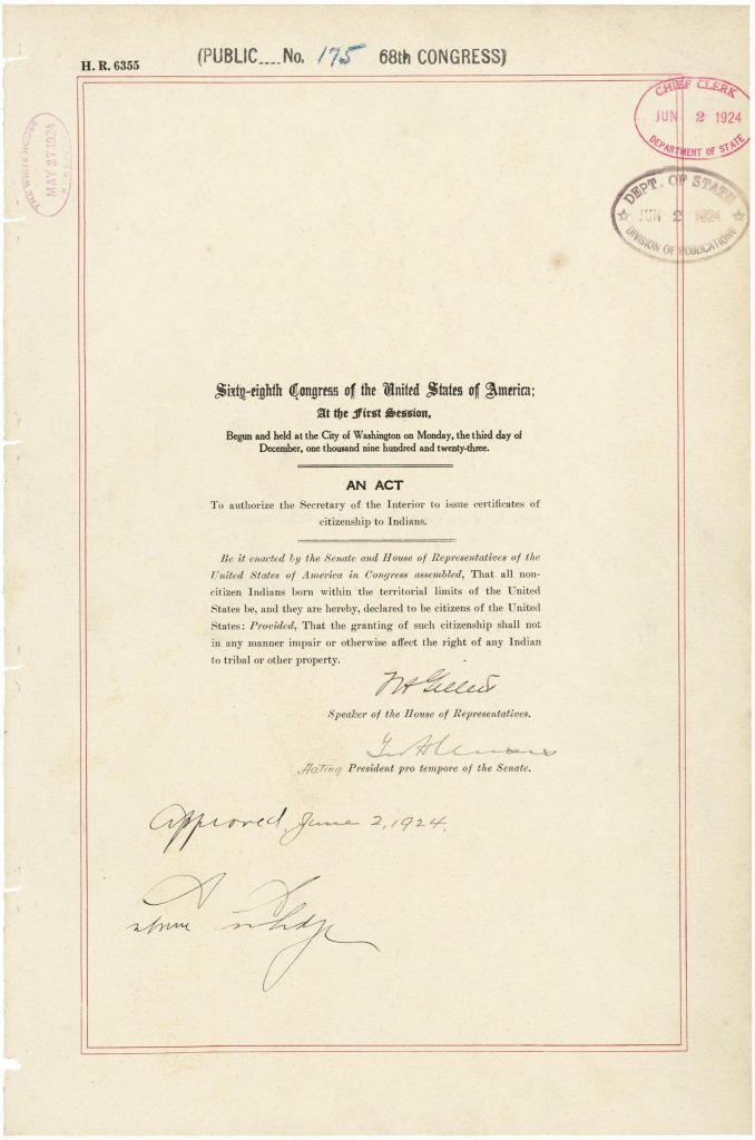 Indian Citizenship Act of 1924