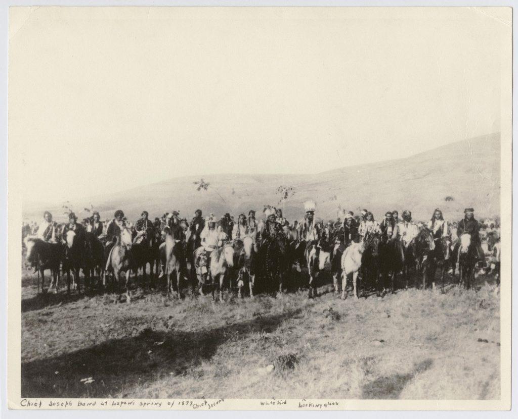Nez Perce Group Known as Chief Joseph's Band, Lapwai, Idaho