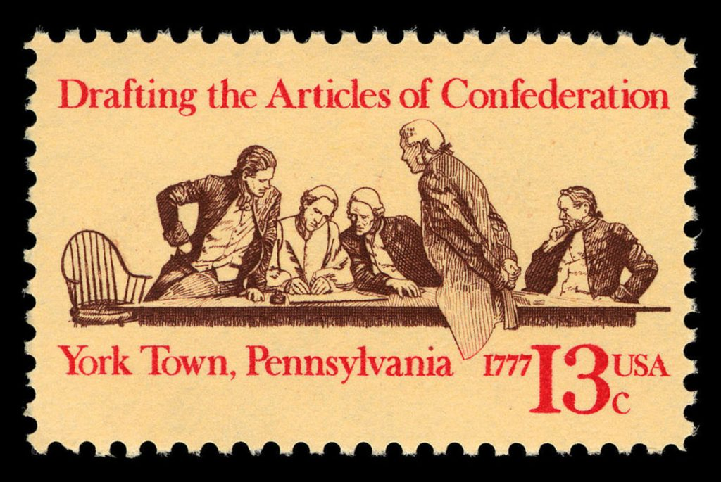 13c Articles of Confederation single