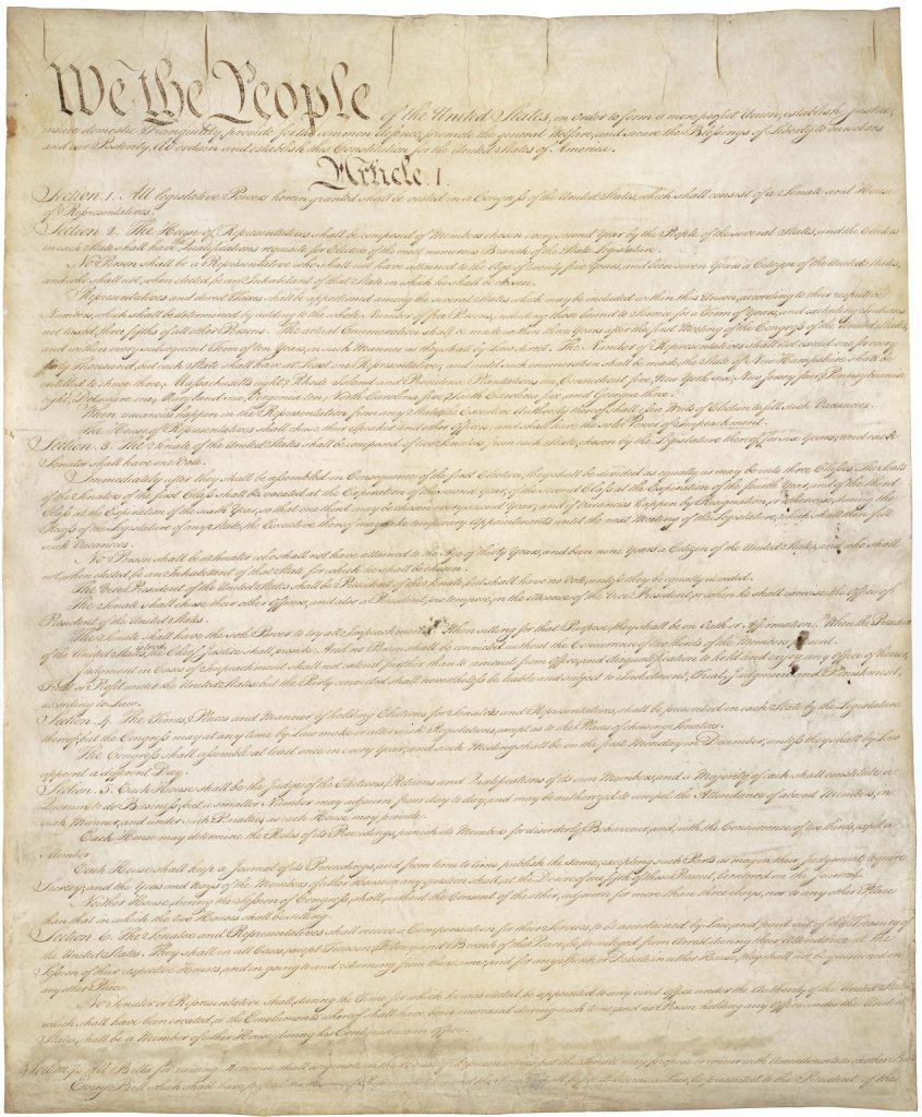 12AD.1.2 The Constitution of the United States