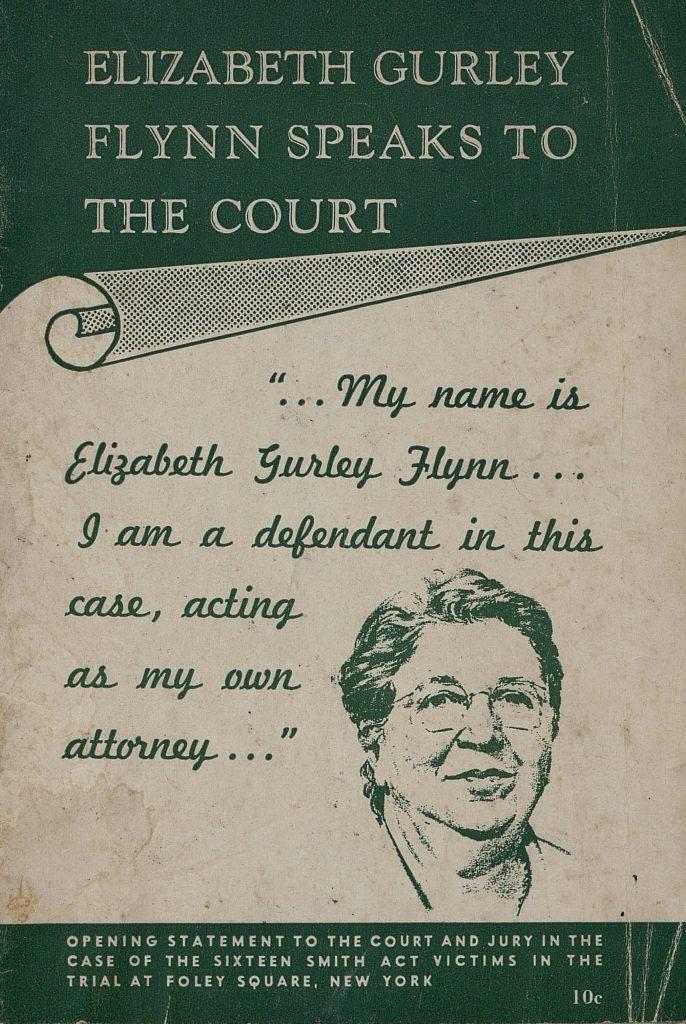 12AD.1.6 Elizabeth Gurley Flynn Speaks to the Court