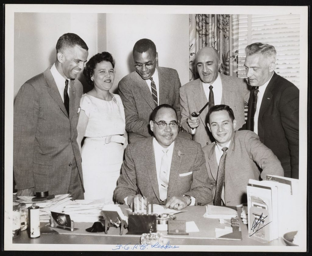 12AD.3.4 Group photograph of members of the California Fair Employment Relations Commission