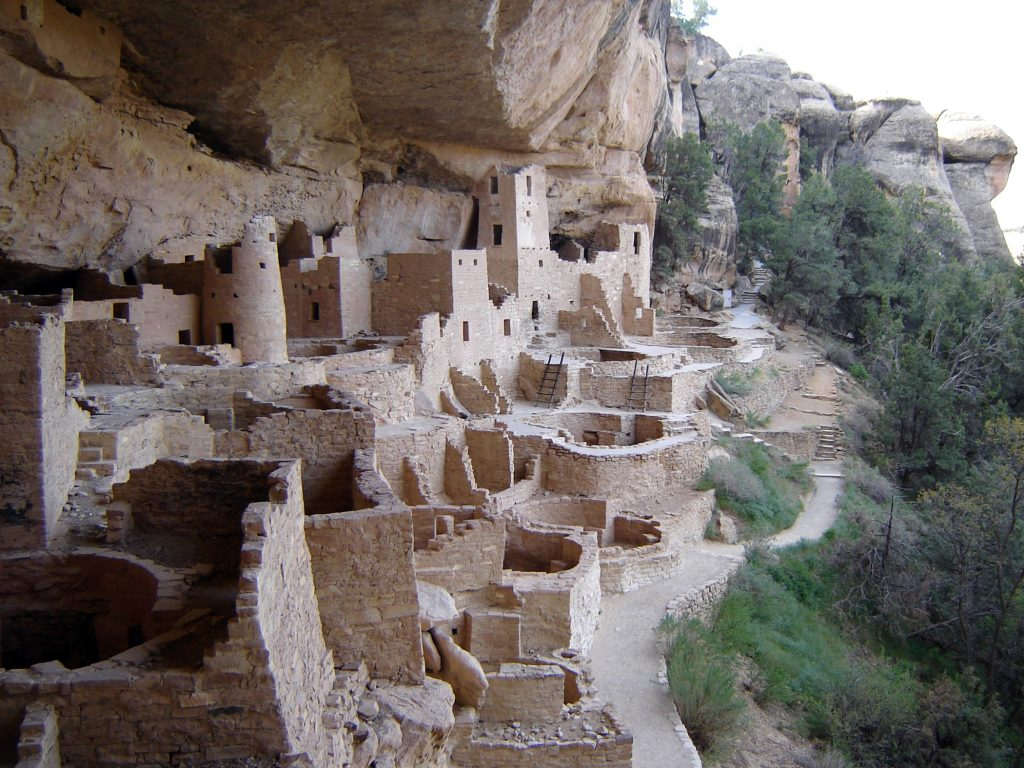 6.1.2 View of the Cliff Palace from above, Mesa Verde National Park