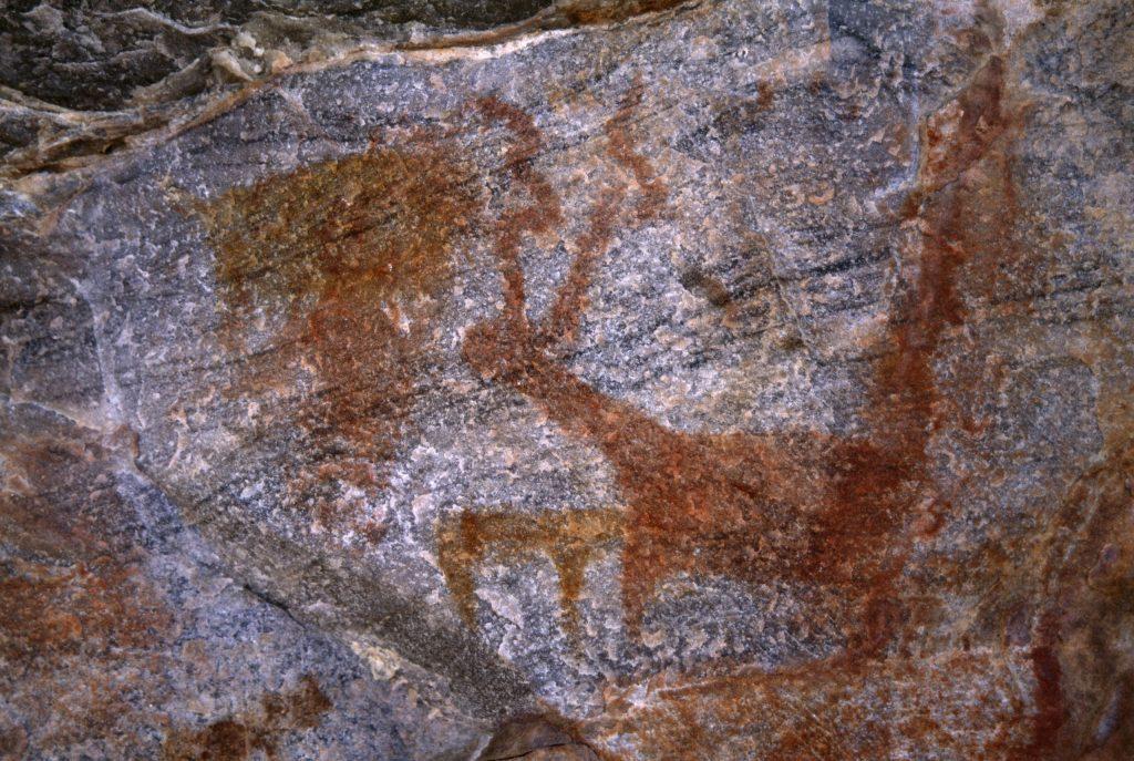 6.1.5 Painted Rock Art, Female Hill, Botswana