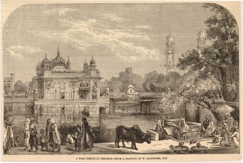 7.10.8 Object: A Sikh Temple in Umritzir