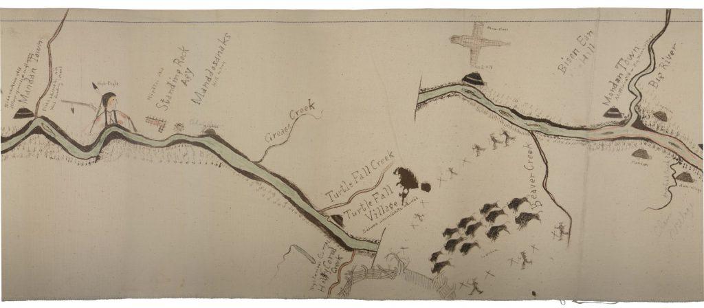 8.4-8.5.11 Sitting Rabbit's map (Detail)