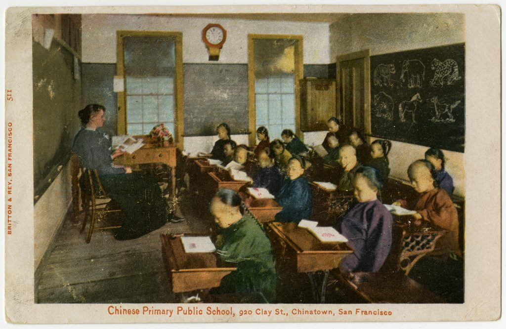 1.4.1 Chinese Primary Public School, 920 Clay St., Chinatown, San Francisco