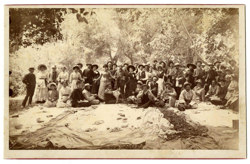 1.5.1 Del Valle family picnic, Rancho Camulos, Ventura County