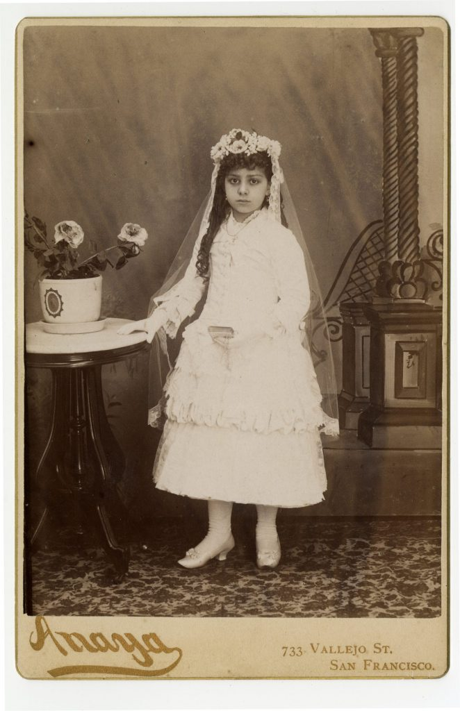 1.5.2 Girl in First Communion Dress