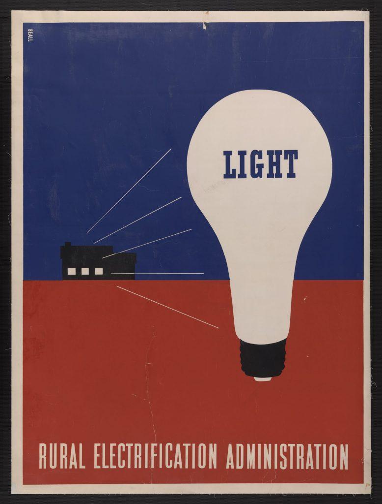 12E.3.4 Light – Rural electrification administration